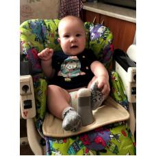 """Сидушка на детский стульчик для кормления от """"маленьких неожиданностей"""""""