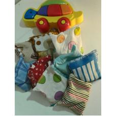 Тактильные сенсорные мешочки для детей