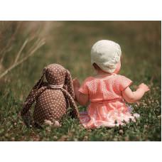Заказ игрушки заяц с большими ушами желаемой расцветки