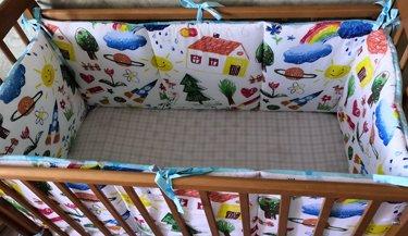 бОРТИКИ для новорожденных в кроватку