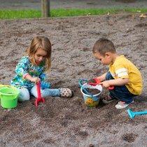 Игры с песком детей