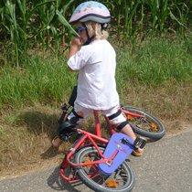 безопасность для детей: шлем, наколенники