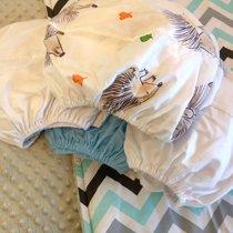 Пеленка на резинке в детскую кроватку