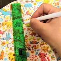 Рисуем маркером на ткани