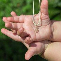 Серебряный крестик для ребёнка (детей)