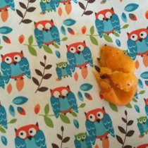Размазываем сочную мякоть абрикоса